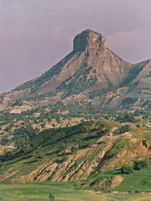 Ilam Province is located in the heart of the Zagros mountain range, with Mount Ghalaghiran near the city of Ilam and one of the symbols of the province.