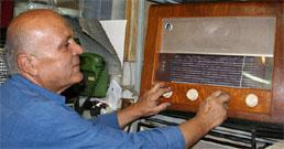 تعمیرات رادیو قدیمی